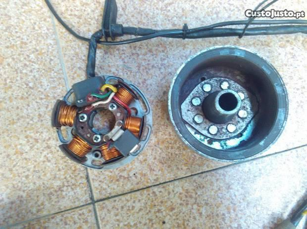 Prato de Bobine e volante magnetico Ducati AM6