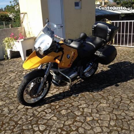 BMW GS 1150 como nova