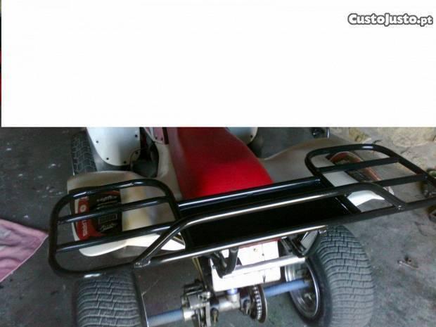 grade traseira moto4 polaris