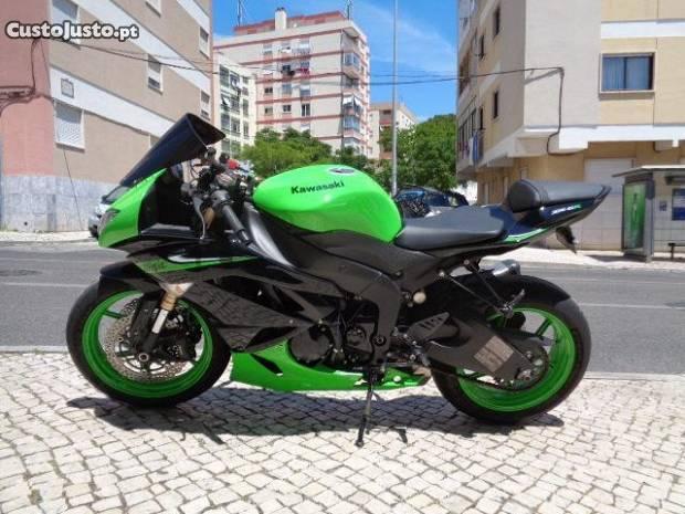 Kawasaki zx 6 rr como nova