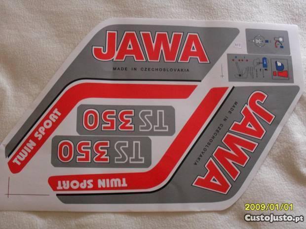 Jawa / Cz. Autocolantes 638 / 639