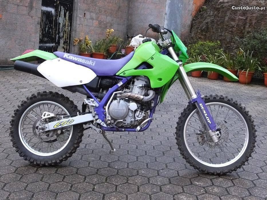 Mota Kawasaki KLX R 650