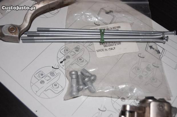 Peças KTM 525 exc de 2004 usadas