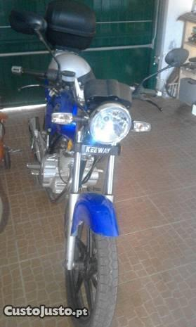 moto keeway 125 impecavel