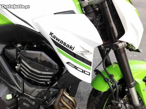 Kawasaki z800 semi nova - Aceito Retoma