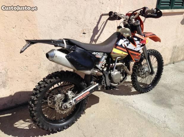 KTM 400 exc Motor Novo