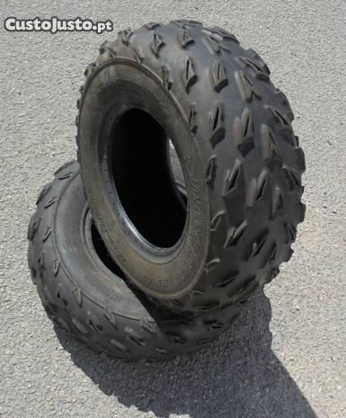 Pneus moto4 Dunlop (C/ Novos)