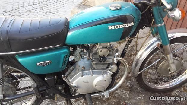 Honda Cb 125cc de 1975
