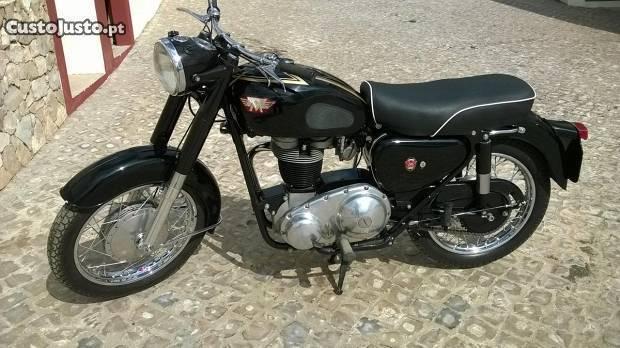 Moto Matchless G3 LS Mercury de 1964 muito rara