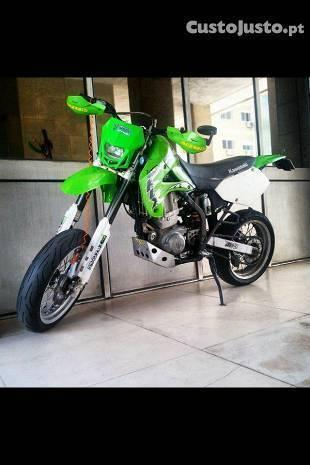Kawasaki KLX650R Supermotard / Supermoto