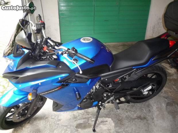 yamaha xj6 diversion f com nova