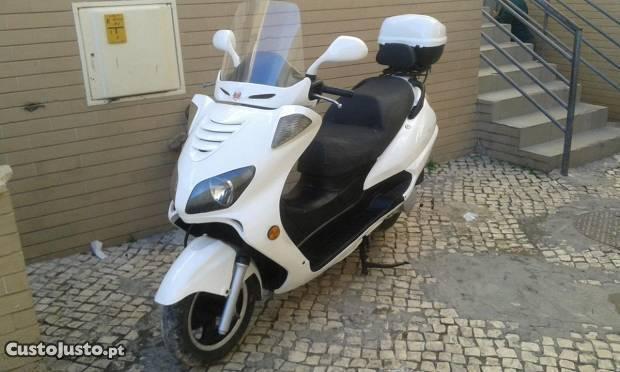 scooter jonway posso trocar por carro
