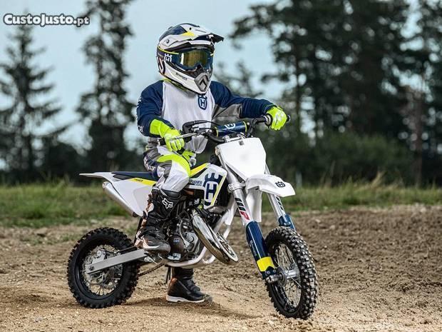 husqvarna tc 65 + ktm 50 junior retomo moto/moto 4