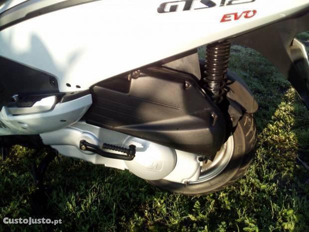 scooter sym gts 125 evo
