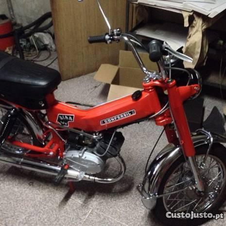 Motorizada restaurada