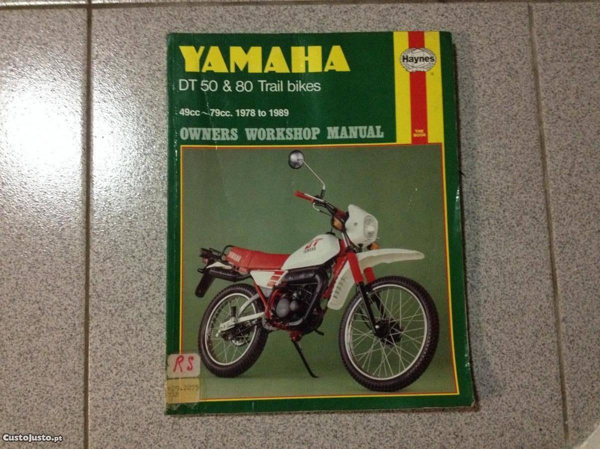 Manual Haynes Yamaha DT 50 e 80 (de 1978 a 1989)