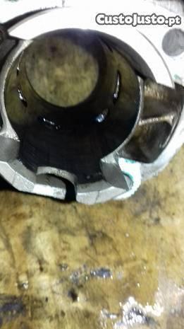Bloco de aluminio para aerox