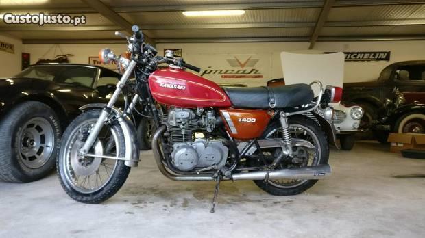 Kawasaki KZ / Z 400 - 1976 - Troco por moto4
