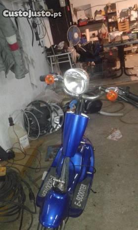 E-scooter eléctrica