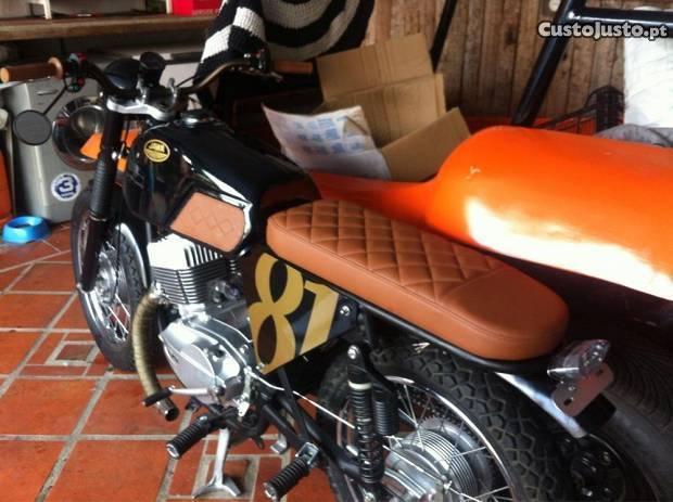 JAWA 350TS Brat Style/Café Racer