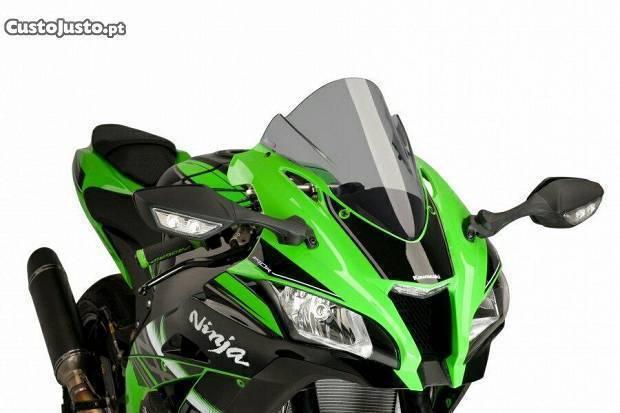 Viseira dupla bolha Puig Kawasaki zx10r 2016