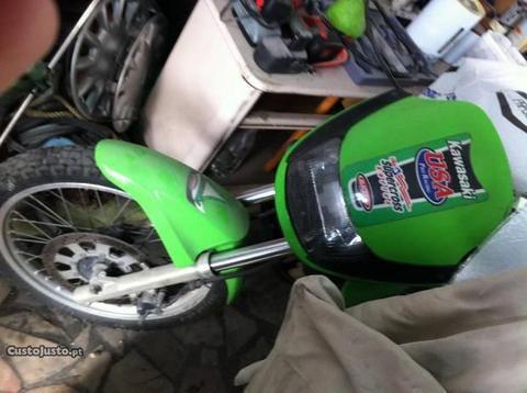Kawasaki KLE 500 troco por moto4