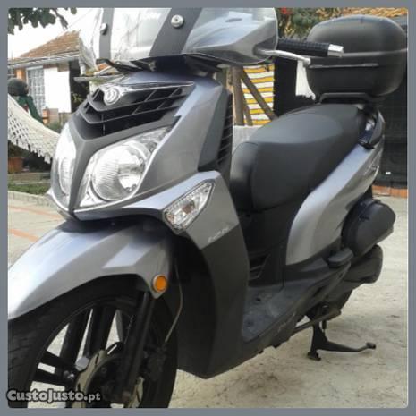 Scooter SYM HD2 125/9.5 kw