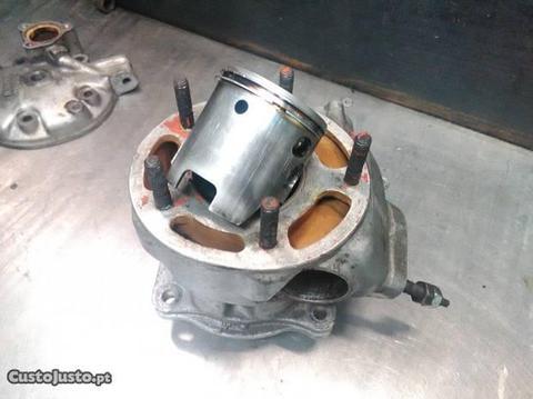 Cilindro e Pistão Yamaha DTR 125