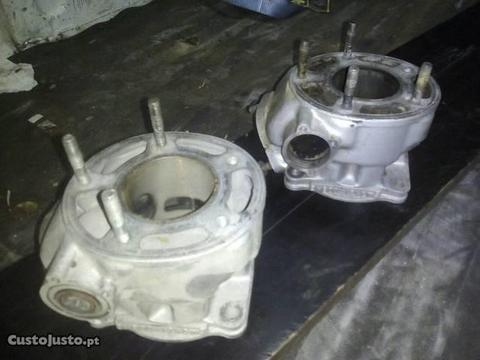 Yamaha DTr cilindro