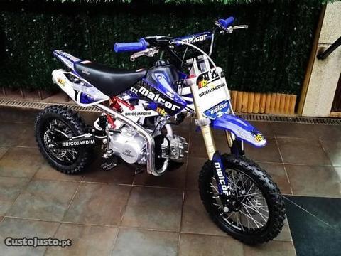 Pit Bike Malcor - Motor 125cc - 4 Tempos - Novas