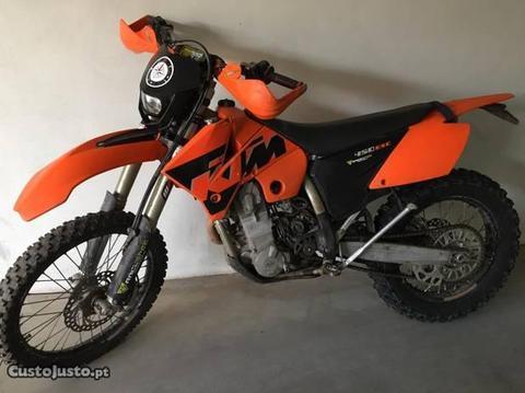Ktm 450EXC 2005 200horas