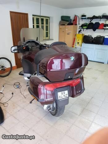 Mota BMW de garagem pouco uso.modelo k.1200 LT
