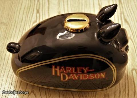 HARLEY DAVIDSON Mealheiro Porco formato depositO