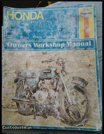 Manual honda cb125/160/175/200