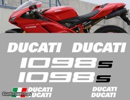 Ducati 1098s autocolantes moto