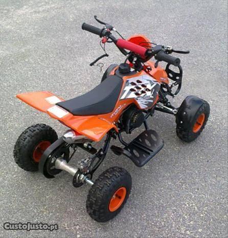 SR - Moto ideal para crianças (Moto 4 50 cc)