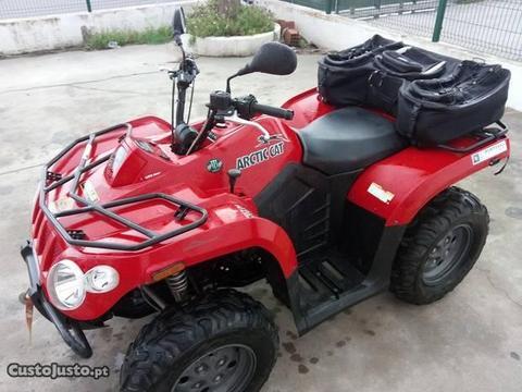 Moto4 Arctic Cat 400 4x4 com 2175 km!