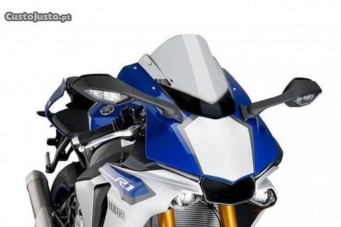 Viseira dupla bolha Puig Yamaha R1 2015