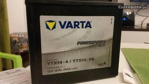 Bateria de moto YTX14-4 / YTX14-BS