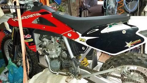 Moto Husqvarna 510E